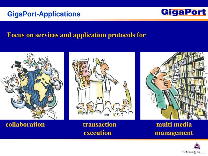 GigaPort-Applications