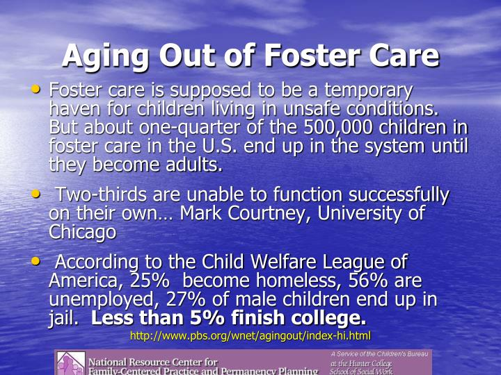 Aging Out of Foster Care