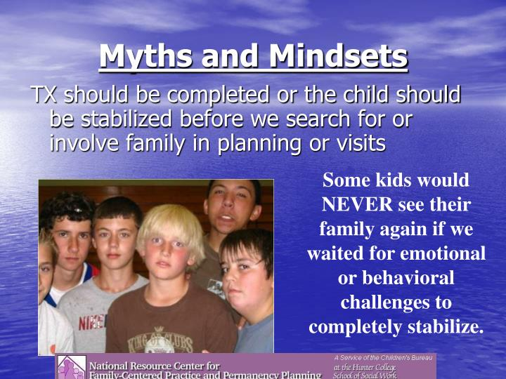 Myths and Mindsets