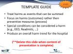 template guide