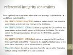 referential integrity constraints1