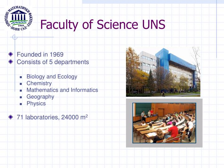 Faculty of Science UNS