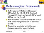 meteorological framework