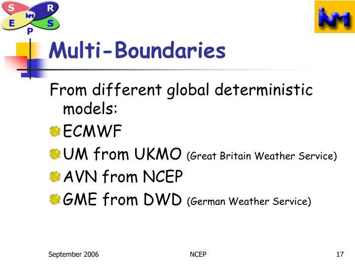 Multi-Boundaries