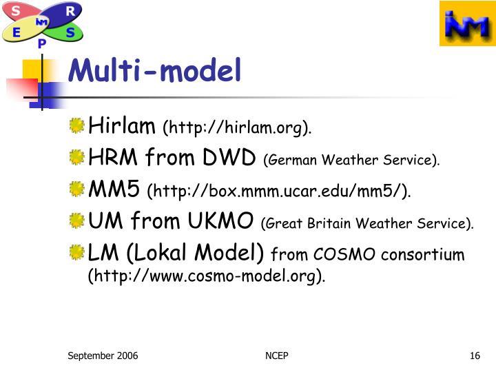 Multi-model