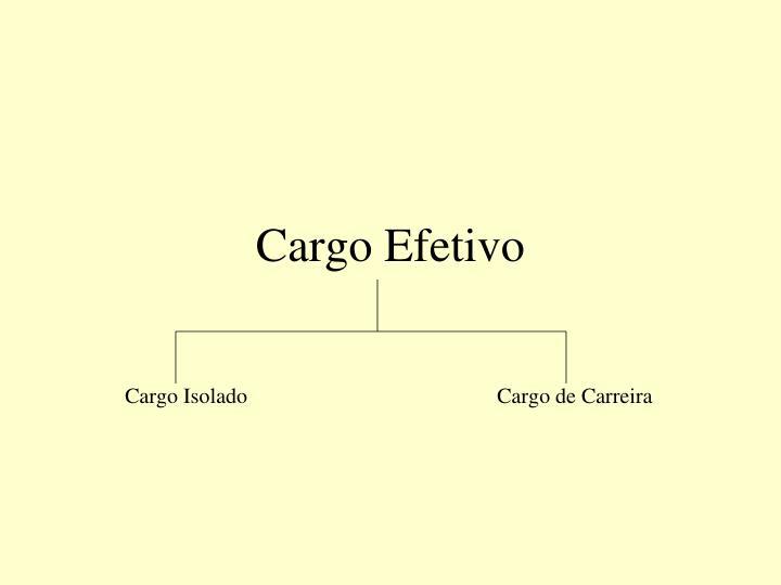 Cargo Efetivo