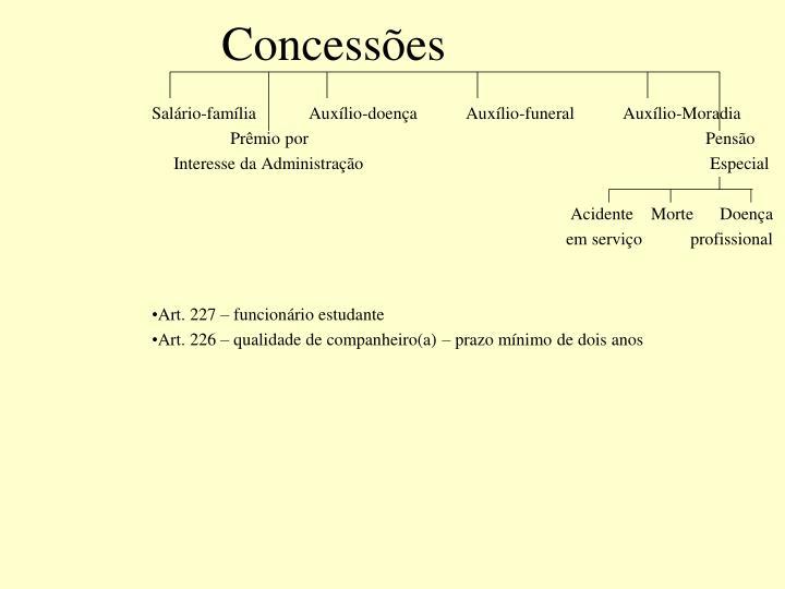 Concessões