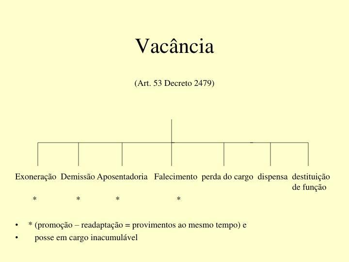Vacância