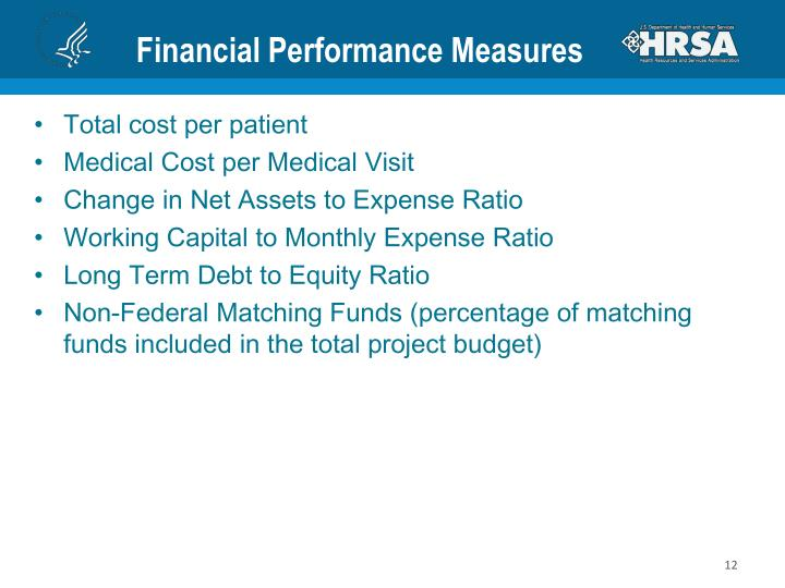 Financial Performance Measures