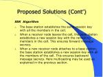 proposed solutions cont1