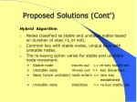 proposed solutions cont2