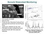 borschi watershed monitoring