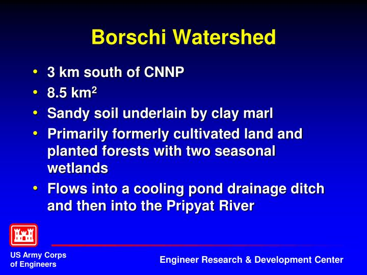 Borschi Watershed