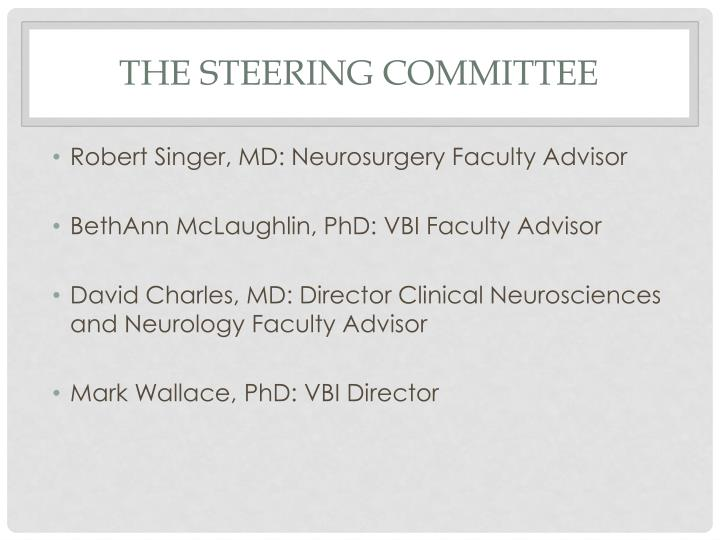 The Steering Committee