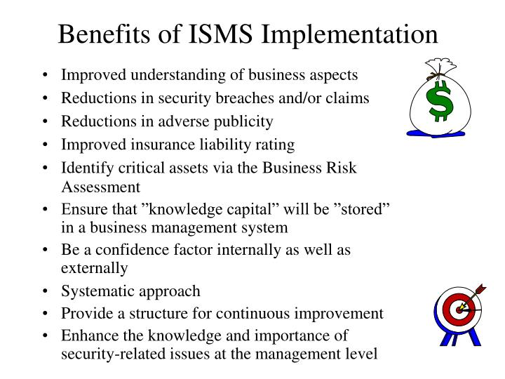 Benefits of ISMS Implementation