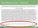 smarter balanced grade 11 writing item