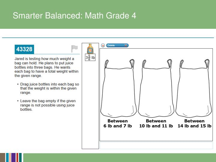 Smarter Balanced: Math Grade 4