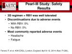 pearl iii study safety results