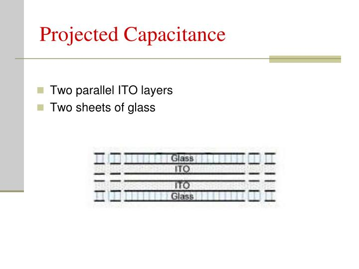 Projected Capacitance
