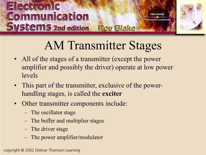 AM Transmitter Stages