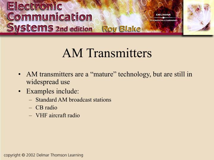 AM Transmitters