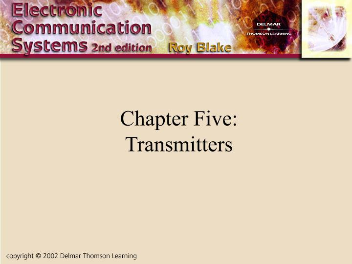 chapter five transmitters