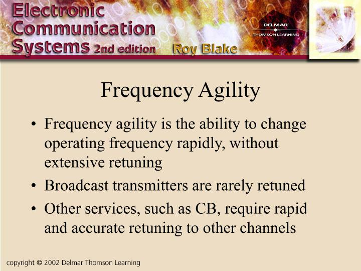 Frequency Agility