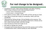 for real change to be designed