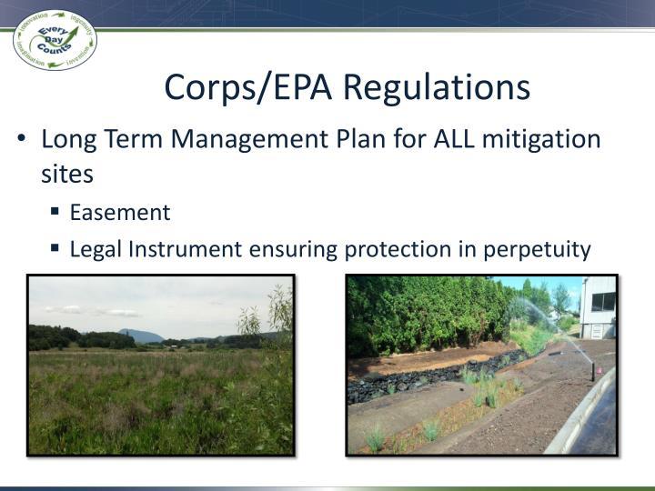 Corps/EPA Regulations