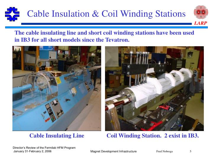 Cable Insulation & Coil Winding Stations