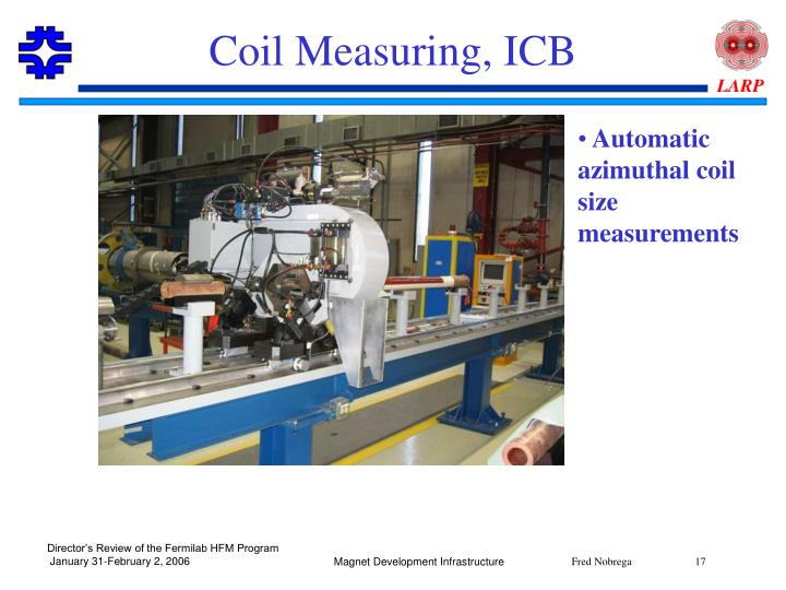 Coil Measuring, ICB