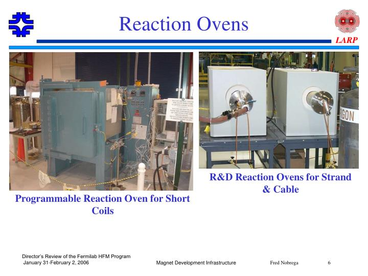 Reaction Ovens