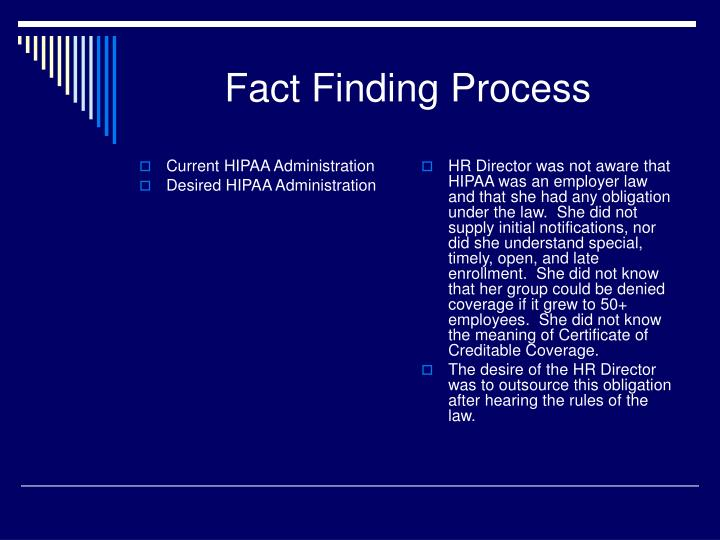 Current HIPAA Administration