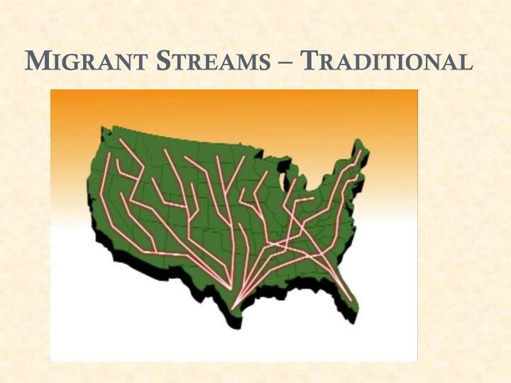Migrant Streams – Traditional