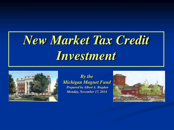 new market tax credit investment