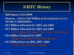 nmtc history