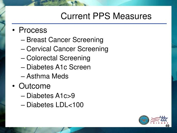 Current PPS Measures