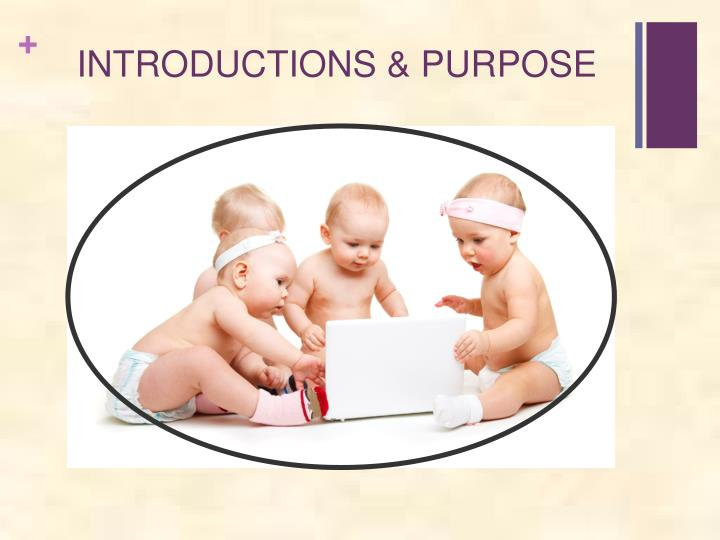 Introductions purpose