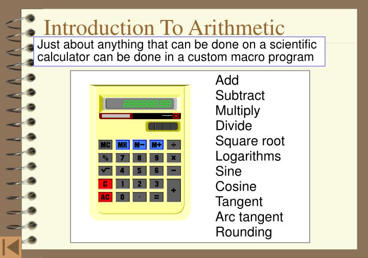 Introduction to arithmetic