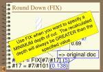 round down fix1