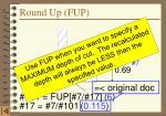 round up fup1