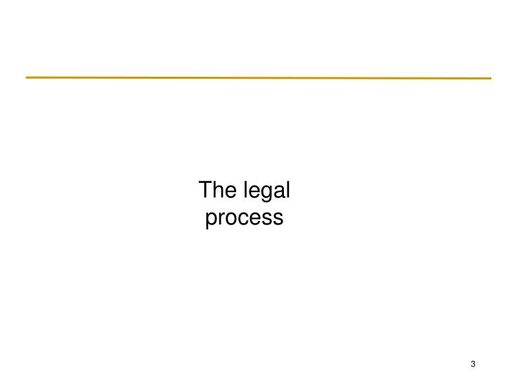 The legal