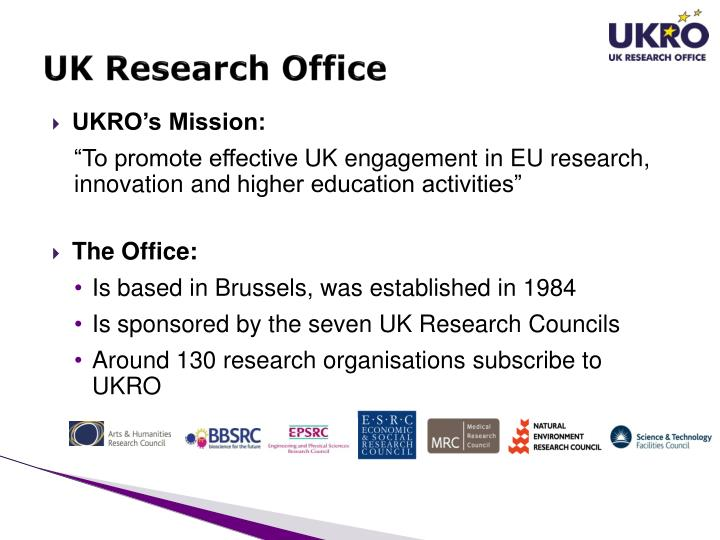 Uk research office