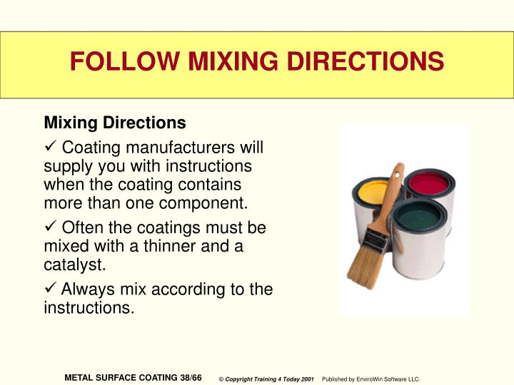 Mixing Directions