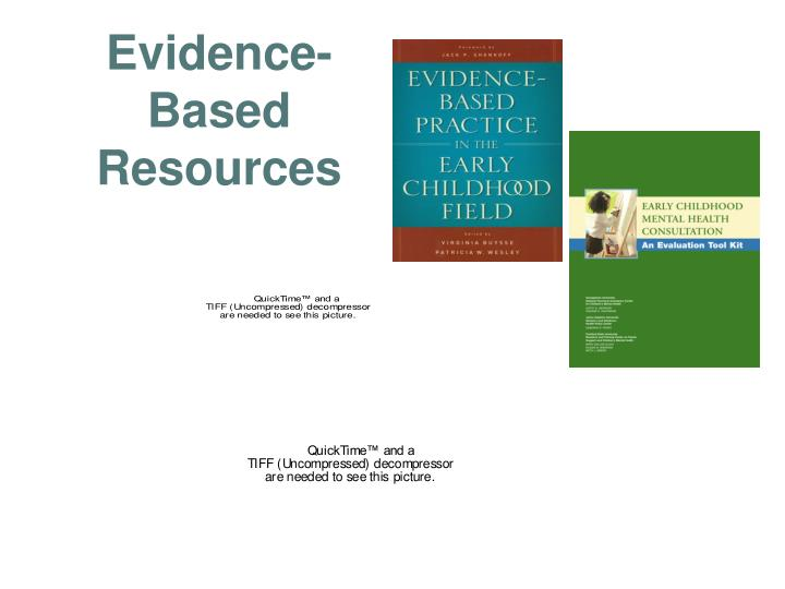 Evidence-Based Resources