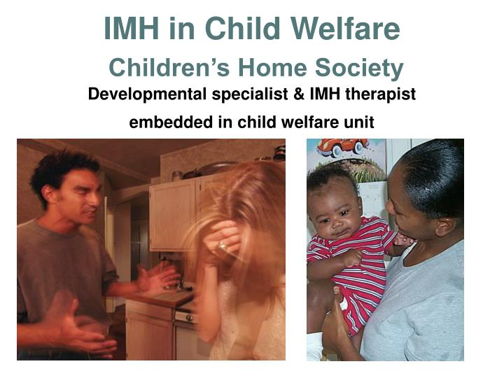 IMH in Child Welfare