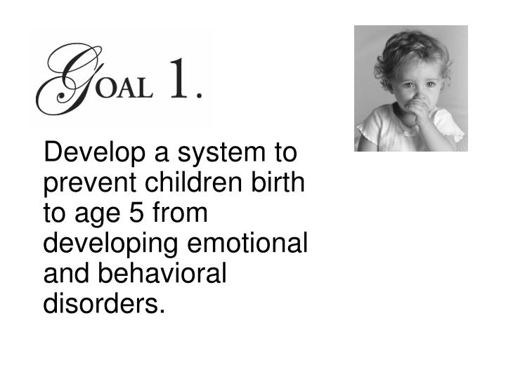 Develop a system to prevent children birth