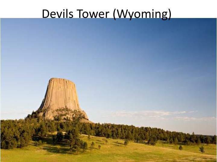 Devils Tower (Wyoming)
