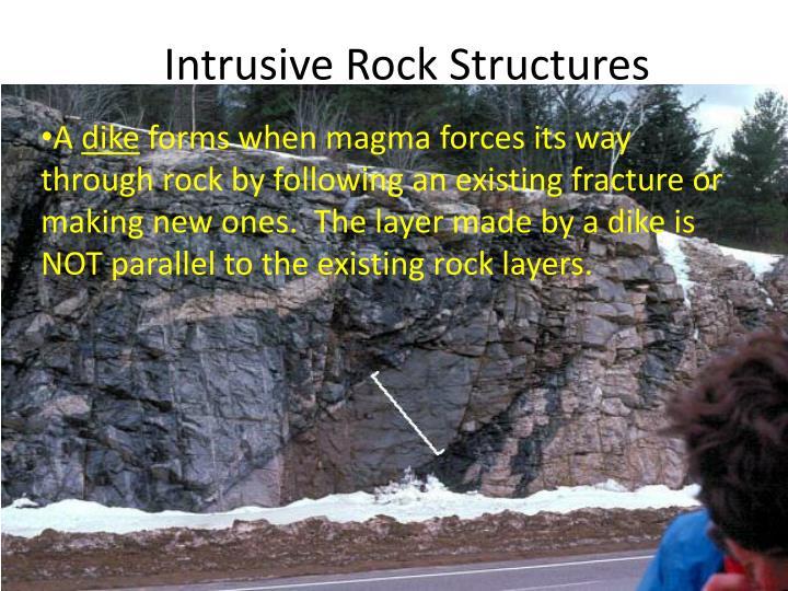 Intrusive Rock Structures