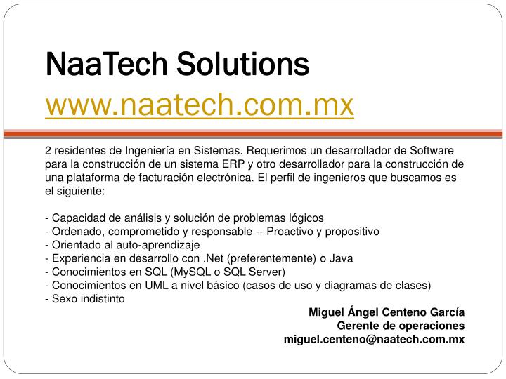 NaaTech Solutions